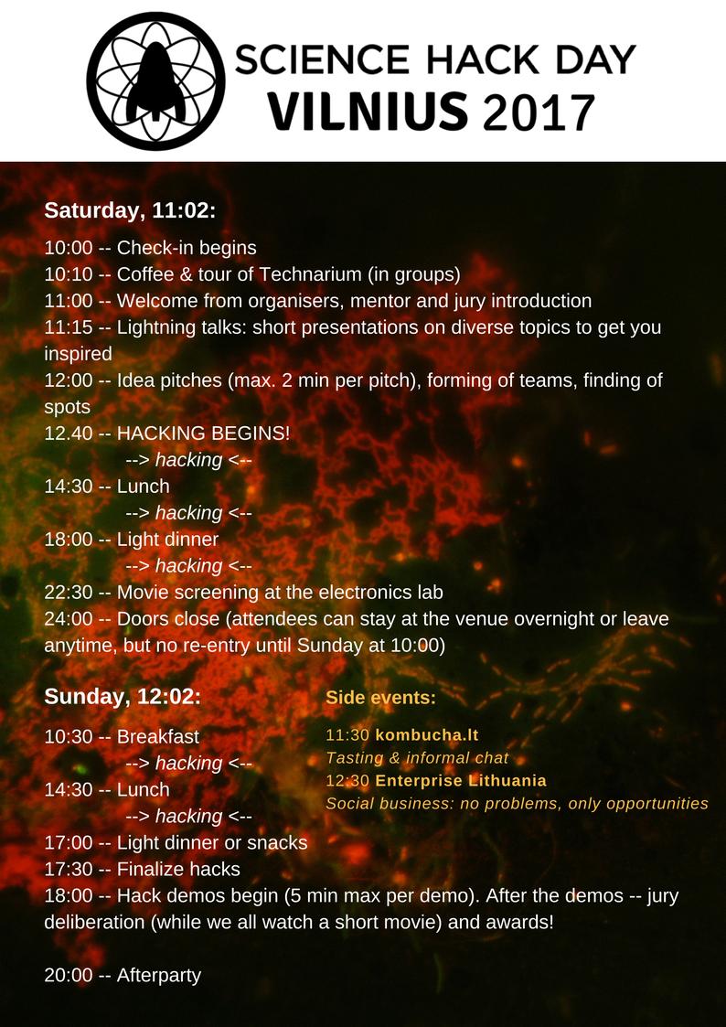 SDHV17 programme ++